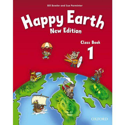 Happy Earth 1 - Class Book - New Edition - Oxford University Press - Elt