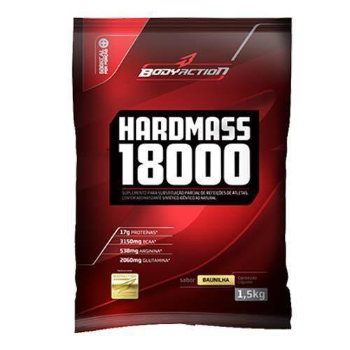 Hard Mass 18000 - 1500g Sabor Baunilha - Bodyaction