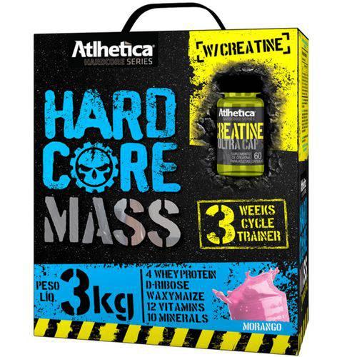 Hardcore Mass W/creatina - Atlhetica