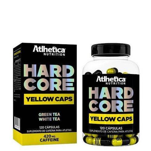 Hardcore Yellow - 120 Cápsulas - Atlhetica