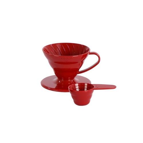 Hario Coador V60- 01r Vermelho