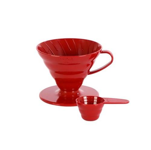 Hario Coador V60- 02r Vermelho