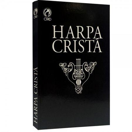Harpa Cristã Grande Popular Preta