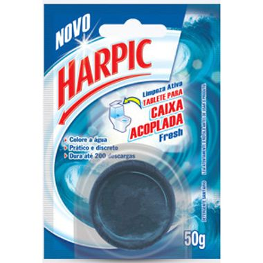 Harpic Caixa Acoplada Azul Fresh 50g