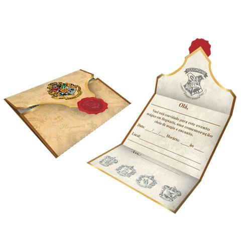 Harry Potter Convite C/8 - Festcolor