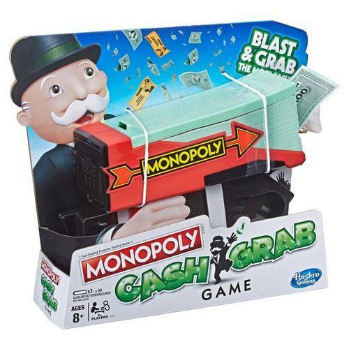 Hasbro E3037 - Jogo Monopoly - Lançador de Dinheiro