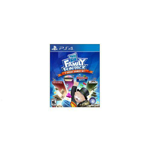 Hasbro Family Fun Pack 4 Great Games In 1 - Ps4
