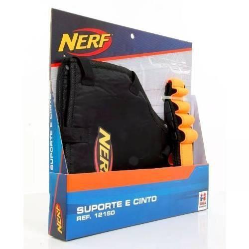 HASBRO- Kit Suporte Nerf Coldre e Cinto para Dardos- 12150