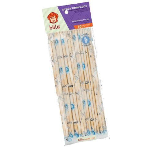 Hashi Bambu Torneado Embalado C/10 - Billa
