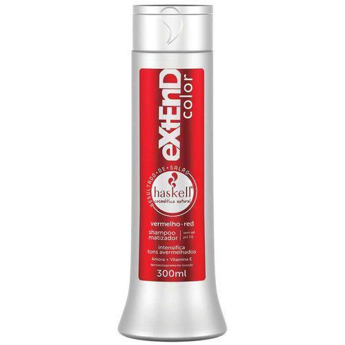 Haskell Shampoo Matizador Vermelho-Red 300 Ml
