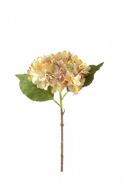 Haste Hortencia Amarela 36cm - Occa Moderna