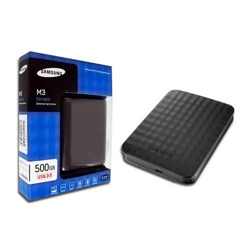 Hd Externo Portátil 500gb Hx - Samsung - Preto