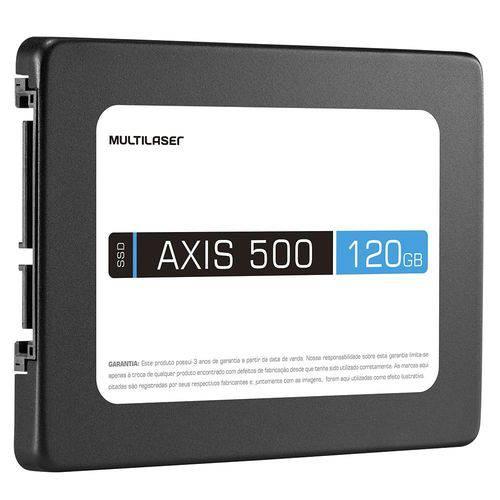 HD SSD Multilaser Axis 500, 120GB, SATA 3
