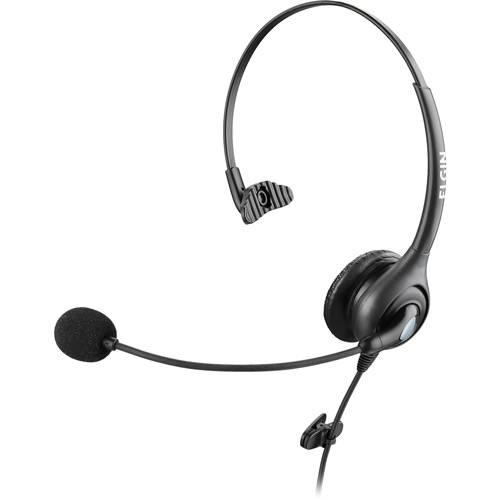 Headphone com Conector QD - Preto - Elgin