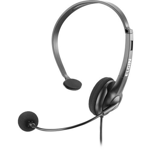Headphone com Conector RJ - Preto - Elgin