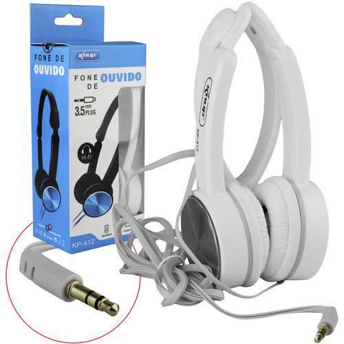 Headphone Fone de Ouvido Kp-412 Kp-412 Knup