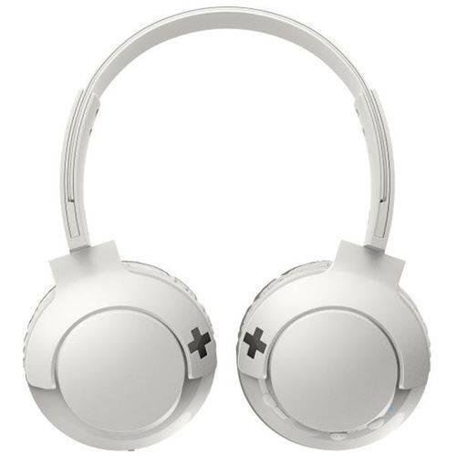 Headphone/Fone de Ouvido Philips Bluetooth - Sem Fio Wireless Bass+ Branco