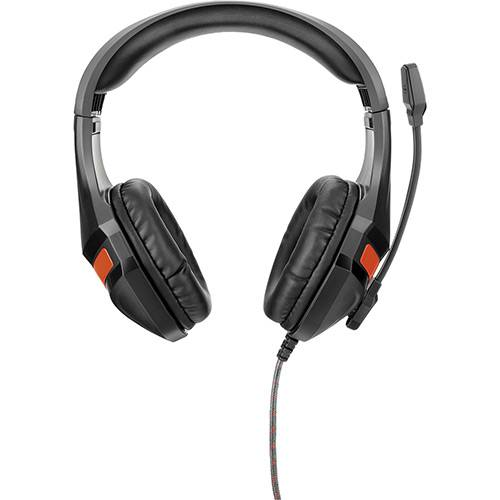 Headset Gamer Multilaser Vermelho - PC