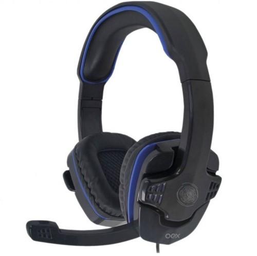 Headset Gamer OEX HS209 Stalker Preto