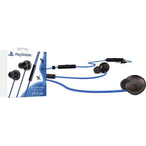 Headset In Ear Stereo Ps4
