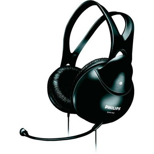 Headset Philips Preto Shm1900/00