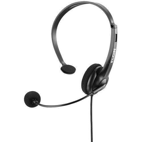 Headset RJ-9 Headphone com Microfone F021-NSRJ Elgin