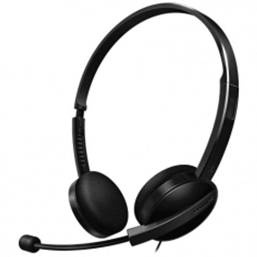 Headset Shm3550/10 Pt com Microfone Ajustável - Philips