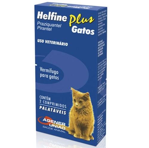 Helfine Gatos - 2 Comprimidos