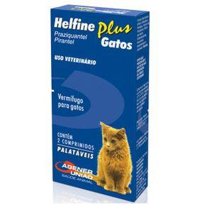 Helfine Plus para Gatos 2 Comprimidos