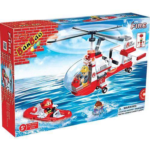 Helicóptero de Resgate 150 Peças Banbao