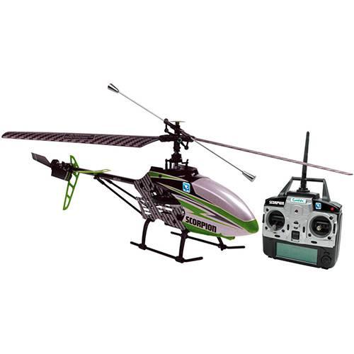 Helicóptero Scorpion Radio Controle 4 Canais com Câmera Candide