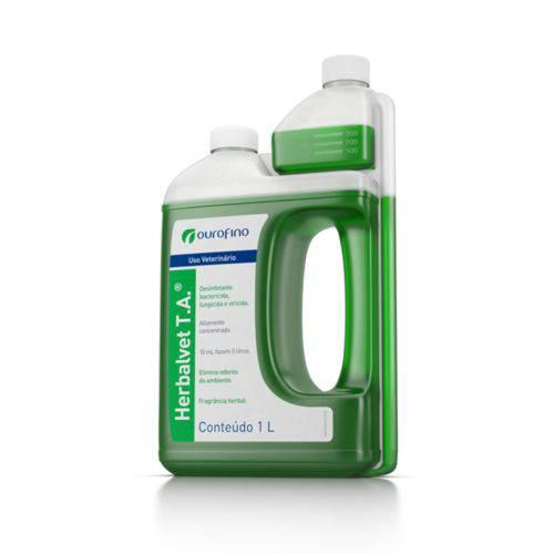 Herbalvet T.A. Desinfetante Bactericida Ourofino 1 Litro