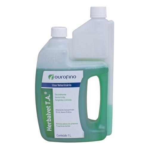Herbalvet T.A Desinfetante e Desengordurante 1 Litro
