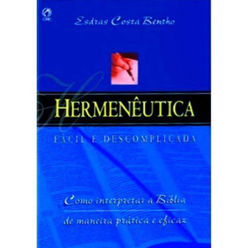Hermeneutica - Facil e Descomplicada
