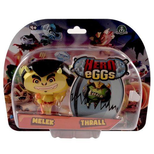 Hero Eggs Double Blister Melek e Thrall - Candide