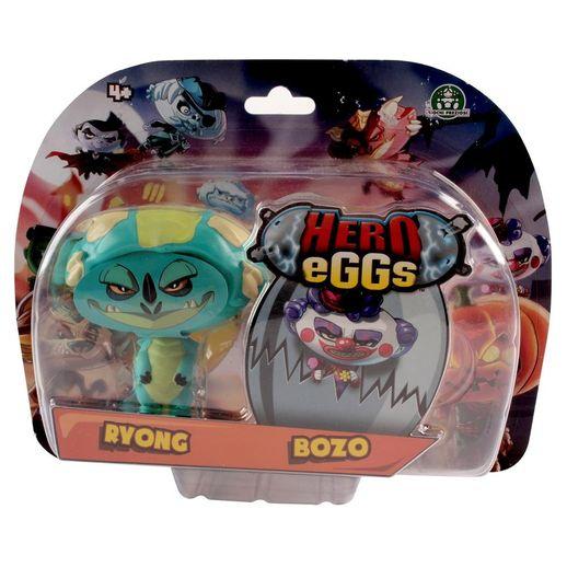Hero Eggs Double Blister Ryong e Bozo - Candide