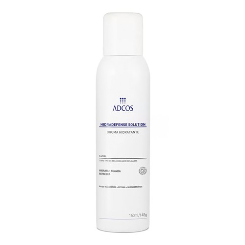 Hidradefense Solution Adcos Bruma Hidratante Spray 150ml