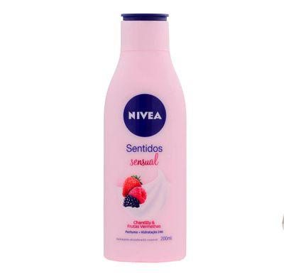 Hidratante Corporal Sentidos Sensual 200ml - Nivea