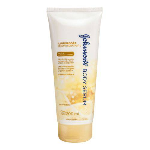 Hidratante Johnson & Johnson Body Serum Iluminador 200ml