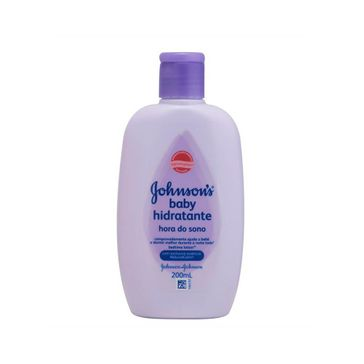 Loção Hidratante Infantil Johnson's Baby Hora do Sono Johnson & Johnson 200ml