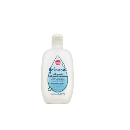 Hidratante Johnson & Johnson Baby Hidrataçao Intensa 200ml