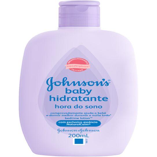 Hidratante Johnson & Johnson Baby Hora do Sono 200ml