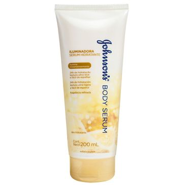 Hidratante Johnson & Johnson Serum Iluminadora 200ml