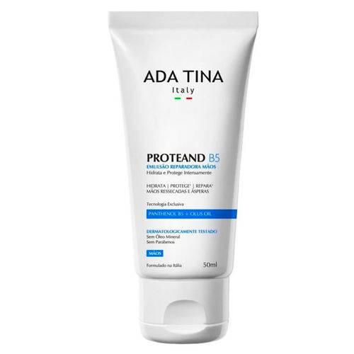 Hidratante para Mãos Ada Tina Proteand B5