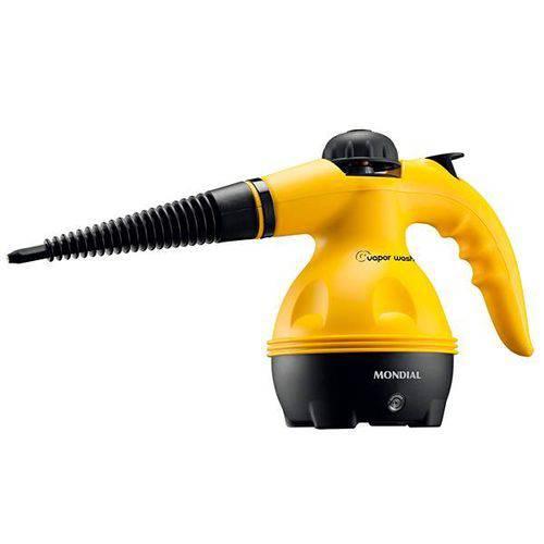 Higienizador Mondial Vapor Wash HG-01 1.000W para 350 Ml 127V - Amarelo/Preto