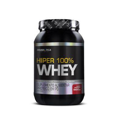 Hiper 100% Whey 900g Probiótica Hiper 100% Whey 900g Morango Probiótica