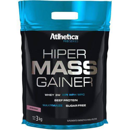 Hiper Mass Gainer (3000Kg) Refil - Atlhetica Nutrition - Baunilha