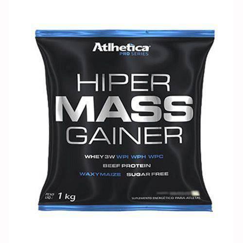 Hiper Mass Gainer - 1000g Baunilha - Atlhetica