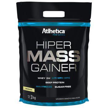 Hiper Mass Gainer Baunilha Refil 3kg - Atlhetica