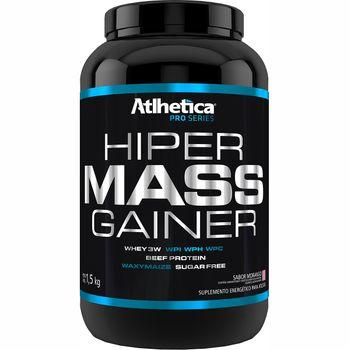 Hiper Mass Gainer Morango 1,5kg - Atlhetica Nutrition